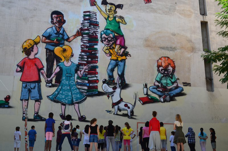 Urbanart: Graffiti στα σχολεία