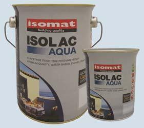 ISOLAC AQUA-SATIN & ISOLAC AQUA-GLOSS